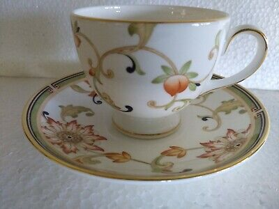 1 Wedgwood Oberon Teacup Tea Cup Saucer Set Unused New Condition, Never Used!