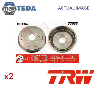 2002-2007 2x Rear brake caliper seal kits B32991A-2 Peugeot 206 2.0 180bhp