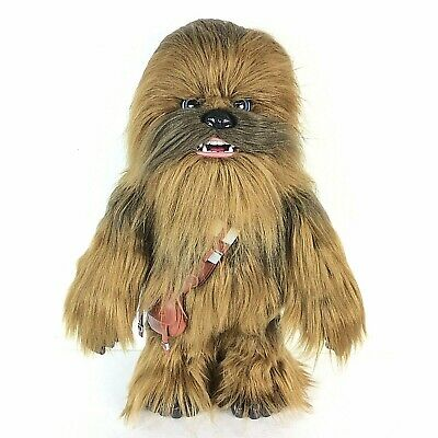 FurReal Chewbacca Toy Interactive Makes Sounds Chewie Co-Pilot Star Wars