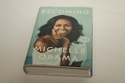 Becoming by Michelle Obama - Hardcover, 2018 Good Condition