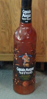 Captain Morgan Tattoo inflatable Blow up Bottle