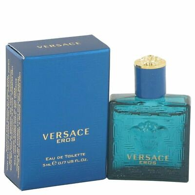 Versace Eros Cologne By Versace Mini EDT FOR MEN NEW