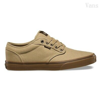 NEW! VANS ATWOOD Shoes 12 OZ CANVAS KHAKI Men's Size 9