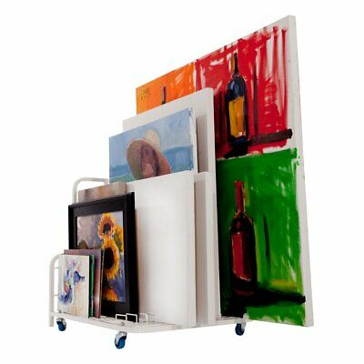 """Dryden Art Canvas Keeper Mobile Large Storage Cart Casters Handle 33x25.5x30.5"""""""