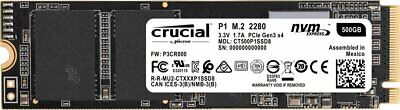 649528787347,Dysk SSD P1 500GB M.2 PCIe NVMe 2280 1900/950MB/s,crucial