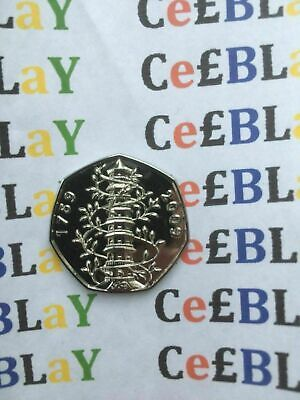 50p FIFTY PENCE 2009 KEW GARDENS VERY GOOD CONDITION PLEASE SEE DESCRIPTION. THU