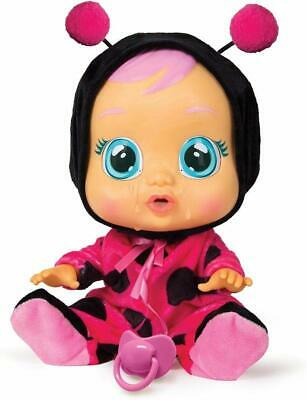 Cry Babies Lady The Ladybug Doll Kid Toy for girls like real baby