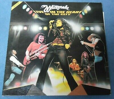 Whitesnake - Live In The Heart Of The City / Underdog Records 1980 France 2X LP