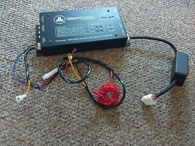 JL audio CL441DSP Cleansweep working on high level only with cables