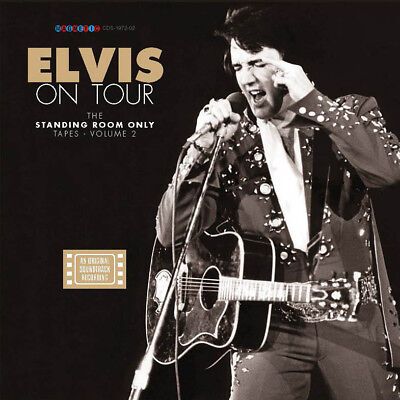 """Elvis Collectors Set Elvis On Tour - The Standing Room Only Tapes vol.2"""" (4 CD)"""