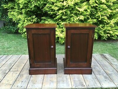 Pair Of Victorian Style Bedside Cabinets