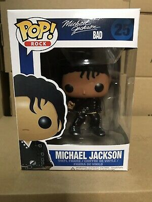 Pop Rock Music Michael Jackson Bad # 25 Vinyl Figure