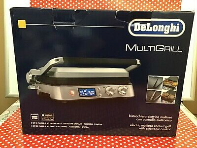 DeLonghi MultiGrill CGH1020D Iron table Barbecue Electric 2000 W UK SELLER