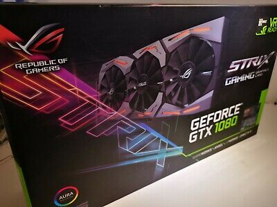 ASUS STRIX GTX 1080 8G Gaming ROG in OVP