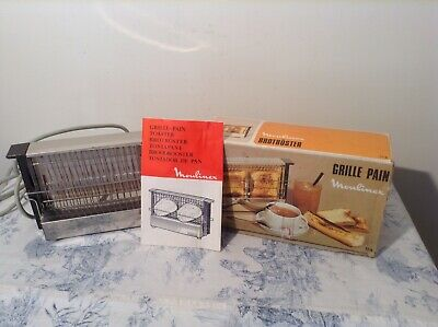 Vintage Retro French Moulinex Toaster - Boxed