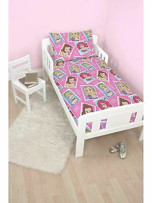 Disney Princess Brave Junior Toddler Cot Bed Bundle, Inc Duvet, Pillow, Bedding