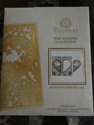 SONGBIRD COLLECTION COUTURE BY CREATE AND CRAFT CLOSURE TEMPLATE 8 DIES