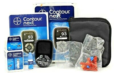 Bayer Contour Next Blood Glucose Monitoring System Easy to Use