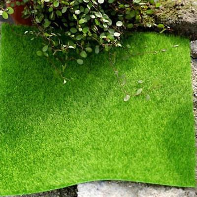 Artificial Grass Mat Thick Greengrocers Plastic Lawn Restaurant Garden Decor TO