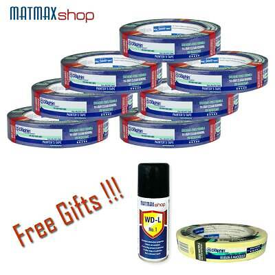 7 x Blue Dolphin Masking Tapes (25mm x 50m) and Gifts