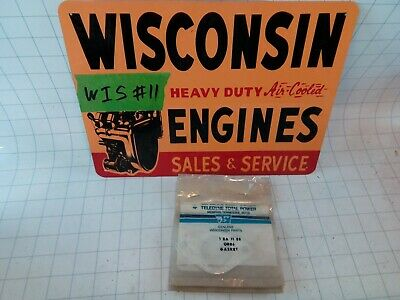 Wisconsin Engine NEW OLD STOCK Gasket Manifold QB86 FREE S&H