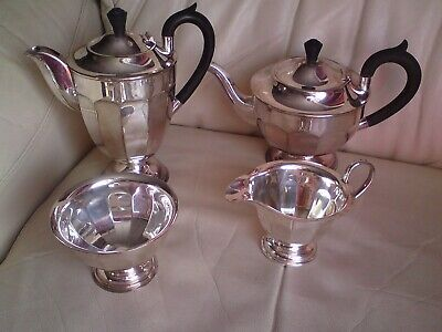 Lovely Vintage Silver Plated EPNS  Coffee Tea Set  Sheffield Made In England
