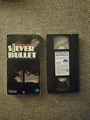 Silver Bullet Stephen King VHS Tape 1985 Horror