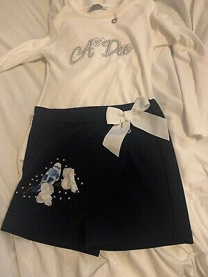 Adee Skort And Top Age 6 Excellent Condition