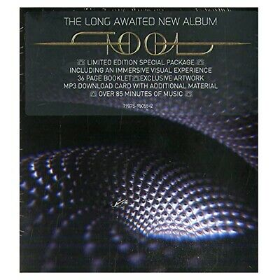 Tool Fear Inoculum Limited Edition Deluxe CD Trifold Screen 2019 In Hand SEALED