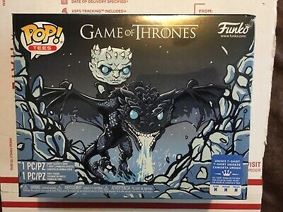 Funko Pop Game of Thrones ICY VISERION Pop & Tee Boxlunch Exclusive IN HAND (M)