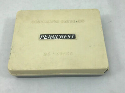 Penncrest Sewing Machine Cams/ Decorative Patterns Jc Penny's 24 Discs