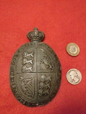 Rare Original Georgian / Napoleonic Period Cross Belt Or Pouch Badge