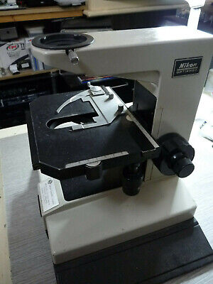 Nikon Optiphot MK1 Episcopic microscope stand and stage