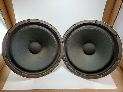"(2) SANSUI W-2000 12""Woofers 8 Ohms SOUND GREAT"