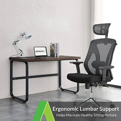 Ergonomic Mesh Office Chair with Adjustable Lumbar Support High Back Reclinable