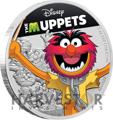 2ND IN SERIES NGC PF70 FIRST RELEASES W//OGP FOZZIE BEAR 2019 DISNEY MUPPETS