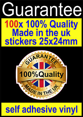 62mm x 32mm X30 Great Britain Union Jack Stickers Labels Made in the UK
