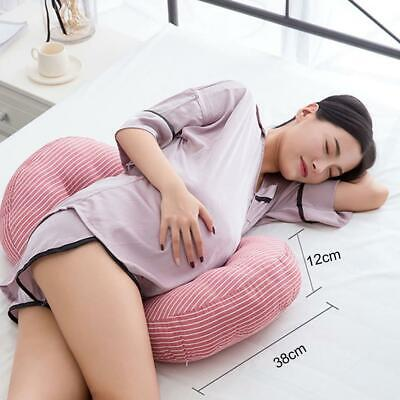 U Shape Pregnant Side Sleepers Maternity Nursing Pregnancy Waist Support Pillow^