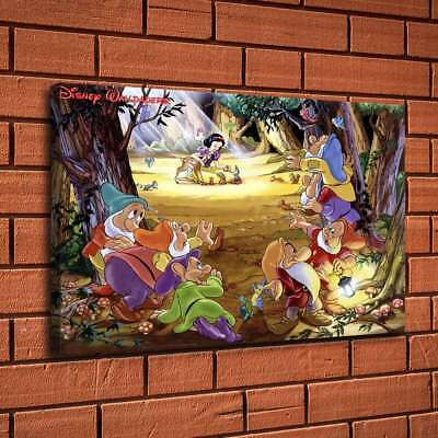 """16""""x24""""Disney HD Canvas print Painting Home Decor Picture Room Wall art Poster"""