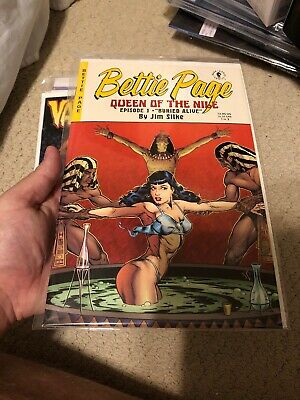 Bettie Page: Queen of the Nile #1 ~ Jim Silke VF/NM