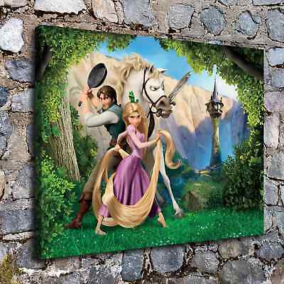 """16""""x20""""Disney Tangled Posters HD Canvas Prints Home Room Decor Wall art picture"""