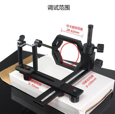 Cell Phones Camera Adapter Telescope Stand Holder Spotting Rifle Scope Mount