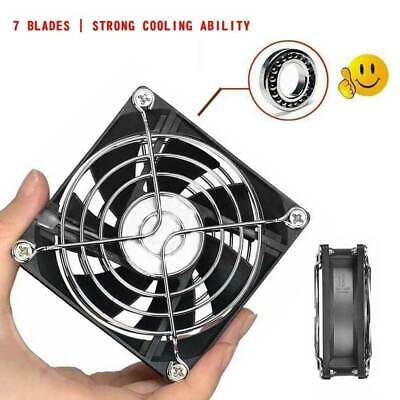 USB Cooling Fan Silent Fan Fr Computer Case PC CPU Case 5V 80x80x26mm AU