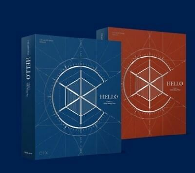 CIX 2nd EP Album - HELLO CHAPTER 2. [HELLO, STRANGE PLACE ] CD + Poster