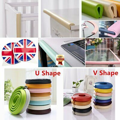 Baby Safety Foam Glass Table Corner Guards Protectors Soft Child Kids Edge U CO