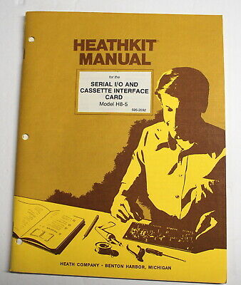 Rare Heathkit Digital Computer Mdl H11 Assembly Manual - ships worldwide
