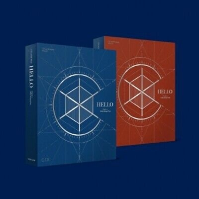 CIX 2nd EP Album HELLO Chapter 2. [Hello, Strange Place] CD+Book+Card+F.Poster