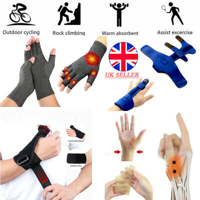 4 Type Medical Wrist Thumb Hand Spica Splint Support Brace Stabiliser Arthritis