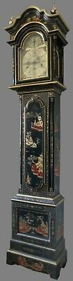 Chinoiserie Longcase Clock. Musical. 8 Day.