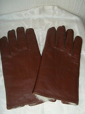 A Pair Of Vintage Leather Gloves By Foster Brothers